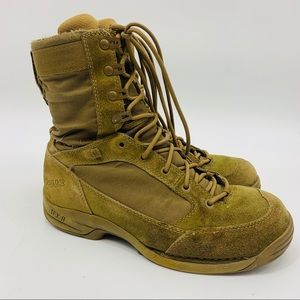 St Mens Tactical Combat Boots Sz